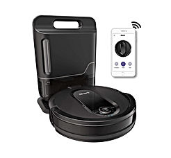 Shark IQ R101AE with Self-Empty Base - Wi-Fi Connected - Home Mapping - Works with Alexa - Ideal for Pet Hair