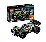 LEGO Technic WHACK - 42072 Building Kit with Pull Back Toy Stunt Car