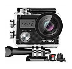 AKASO Brave 4 4K 20MP WiFi Action Camera Ultra HD