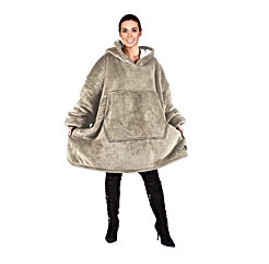 Oversized Hoodie Blanket Sweatshirt,Super Soft Warm Comfortable Sherpa