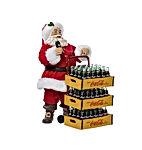 Kurt Adler Coca-Cola Santa with Delivery Cart