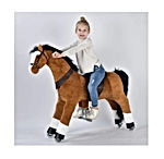 Large Mechanical Horse Toy, Ride on Bounce up and Down and Move