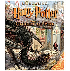 Harry Potter and the Goblet of Fire - The Illustrated Edition