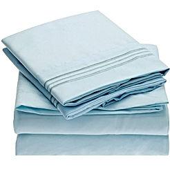 Sheet Set Brushed Microfiber 1800 Bedding-Wrinkle Fade - Stain Resistant