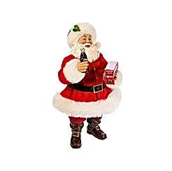 "Kurt S. Adler 10"" Santa with Coca-Cola"