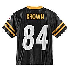 Antonio Brown Pittsburgh Steelers 84 Black