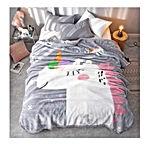 DANGTOP Fleece Flannel Blankets Cartoon Unicorn Pattern Thick Luxury Flannel Blanket
