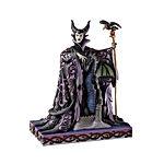 Maleficent with Dragon Figurine