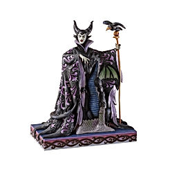 Maleficent with Dragon Figurine