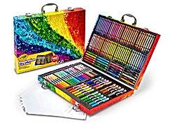 140 Count Art Set, Rainbow Inspiration Art Case