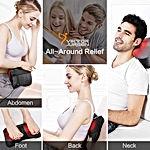 Neck Massage Pillow Shiatsu Deep Kneading Shoulder Back and Foot Massager