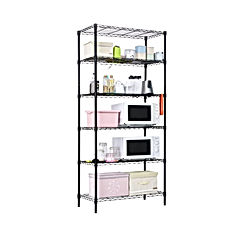 LANGRIA 6 Tier Garage Shelving Shelving Unit