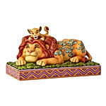Lion King Simba and Mufasa Father's Pride Figurine