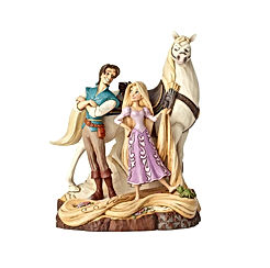 "Tangled Carved by Heart Live Your Dream"" Stone Resin Figurine"
