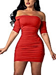 Women's Summer Short Sleeve Sexy Bodycon