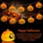 LED Guirlande Lumineuse, 2019 Citrouille Chaîne Lumineuse Halloween Lanterne Potiron 3m 20LEDs Batterie Pumpkin Lumieres Guirlandes Lumineuses Ampoules Lampe Décoration pour Halloween