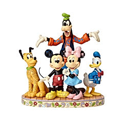 Jim Shore Disney Traditions by Enesco Fab 5 Mickey, Minnie, Donald, Goofy and Pluto