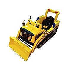 2.4G RC Car Toys Crawler Construction Truck Manned Dual Mode RC Bulldozer Car