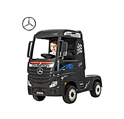 Ride in Truck, Licensed Mercedes-Benz Actros, Electric Ride on Cars Motorized Vehicles for Kids, Remote Control