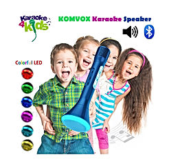 Children Karaoke Microphone Toys for Boys, Kids Rechargeable Wireless Microphone Singing Machine