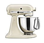 Artisan Series 5-Qt. Stand Mixer with Pouring Shield - Almond Cream