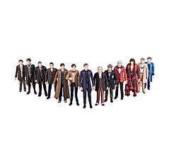 Doctor Who 5.5 inch 13 Doctor Action Figure Set