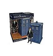 Doctor Who The Fourth Doctor Regenerated and Tardis Collector Figure Set