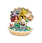 Little Mermaid Shell Scene Figurine