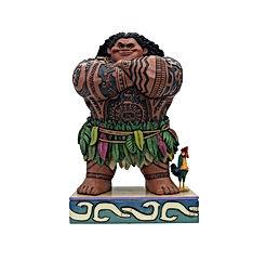 """Maui from """"Moana, 8.15"""" Stone Resin Figurine"""
