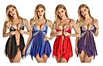 Lingerie for Women Front Closure Babydoll