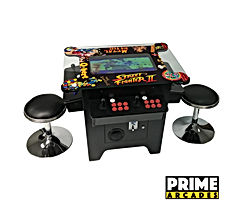 LLC Cocktail Arcade Machine 1162 Games in 1 with 80's and 90's