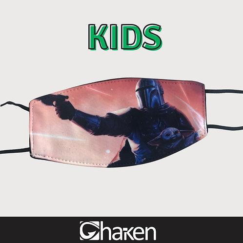 Cubrebocas personalizado KIDS