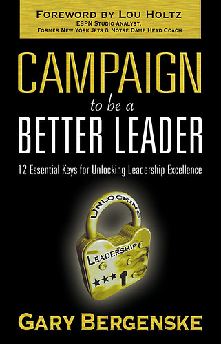 Campaign To Be A Better Leader HARD COVER