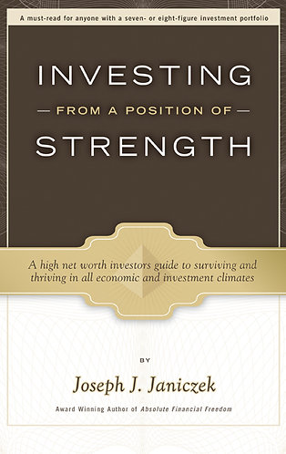 Investing from a Position of Strength HC