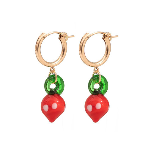 Fragola Earrings