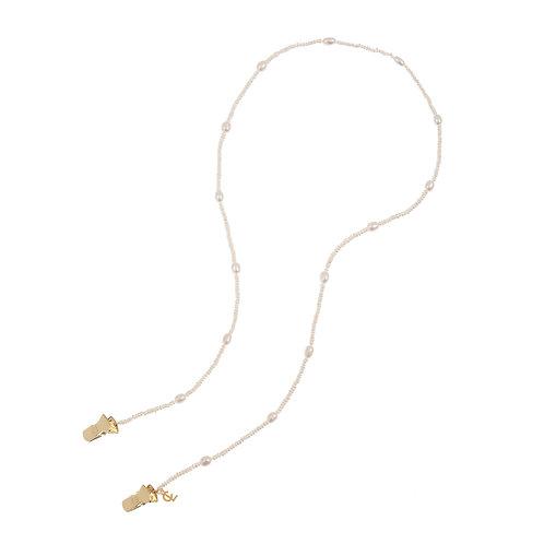 Sariah Pearl Clasp Chain