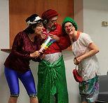 clown théâtre improvisation draille colorée montpellier mila sindel