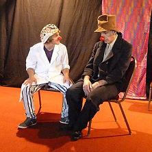 clown théâtre corporel improvisation draille colorée montpellier mila sindel
