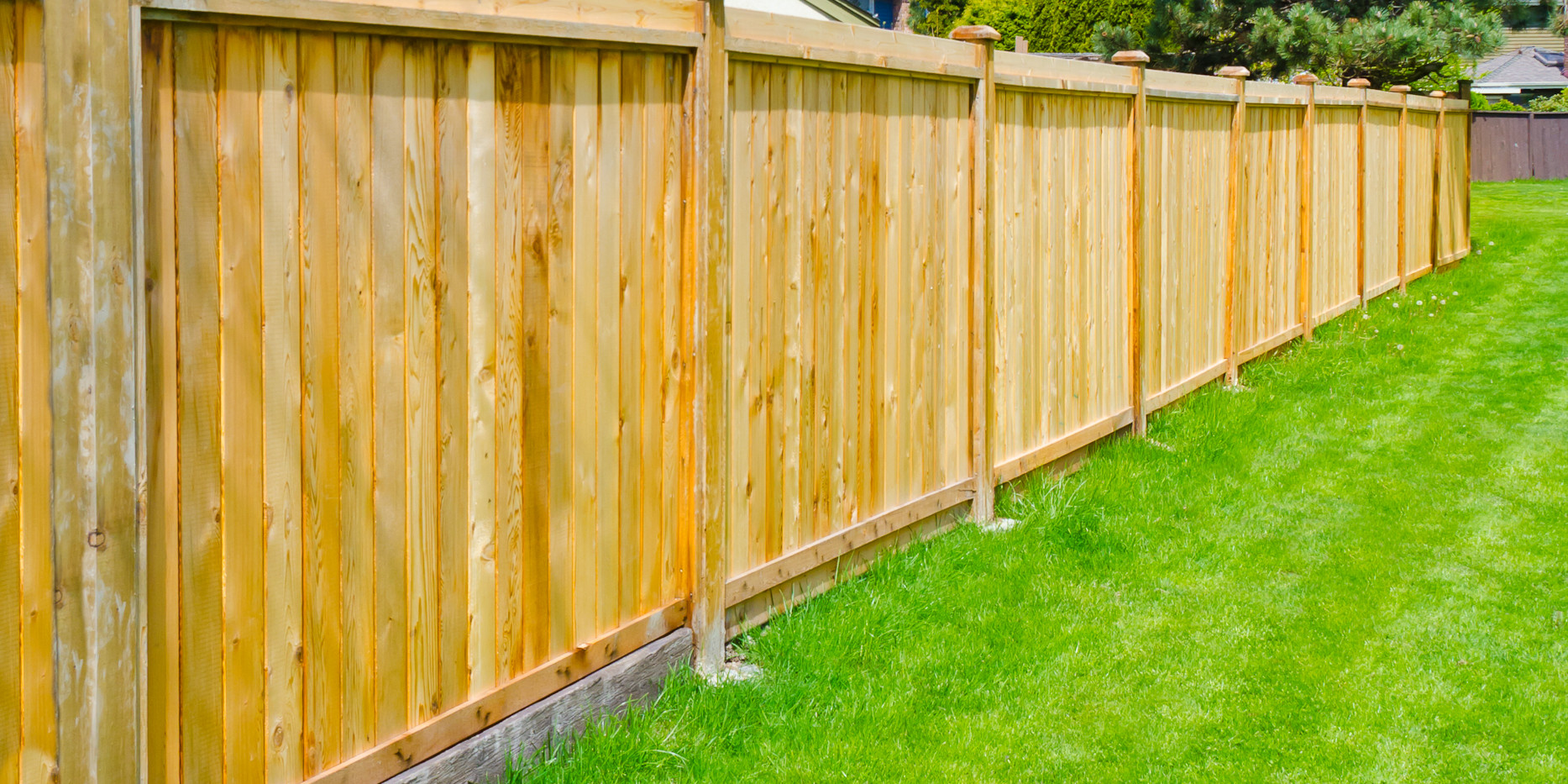 Cap and Fascia privacy fence