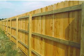 6 Ft privacy fence