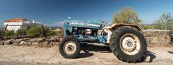 Paul Nettleton_Tractor, Proastio, Mani