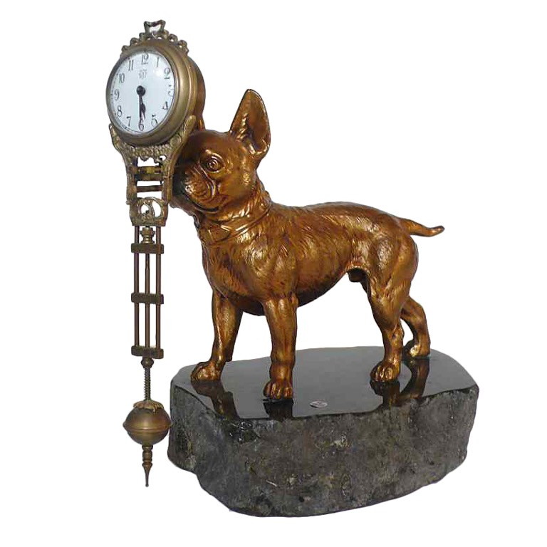 A dog with a Clock_Martin Riley