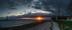 1670_Sunset On The River Humber_Ian Greg