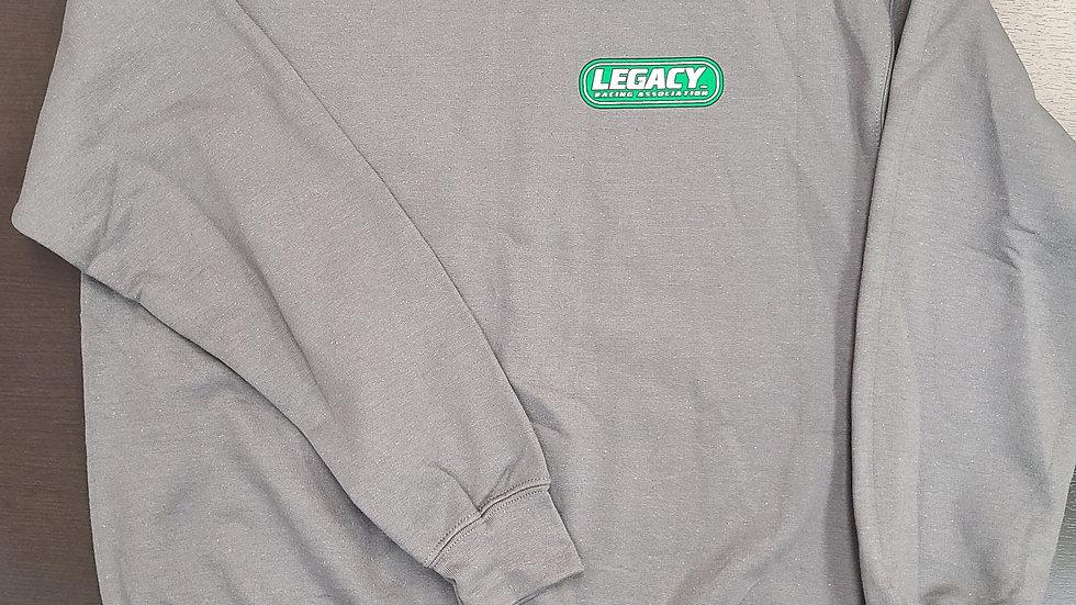 Legacy Crewneck Sweatshirt- Sport Grey