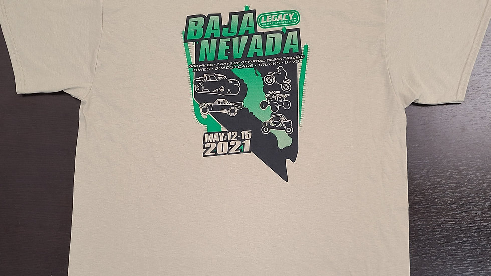 2021 Baja Nevada Event Shirt