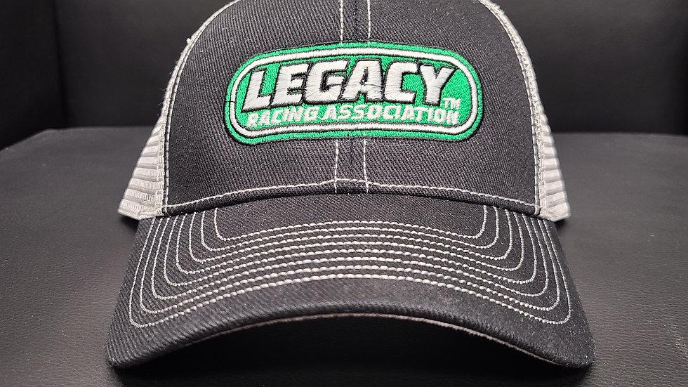 Legacy Racing Hat - Trucker Black/Grey