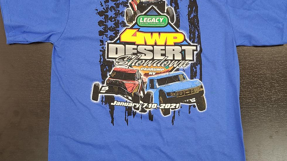 4WP Desert Showdown t-shirt