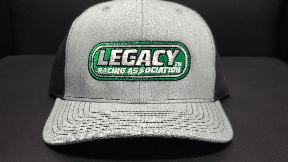 Legacy Racing Hat - Trucker Heather Grey/Black