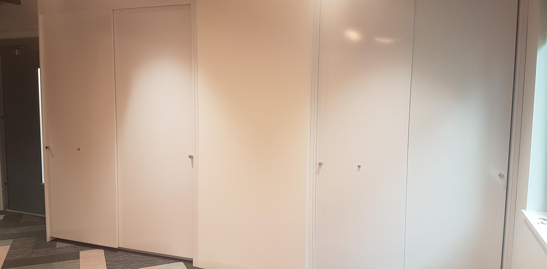 office storagewall tallwall sliding doors