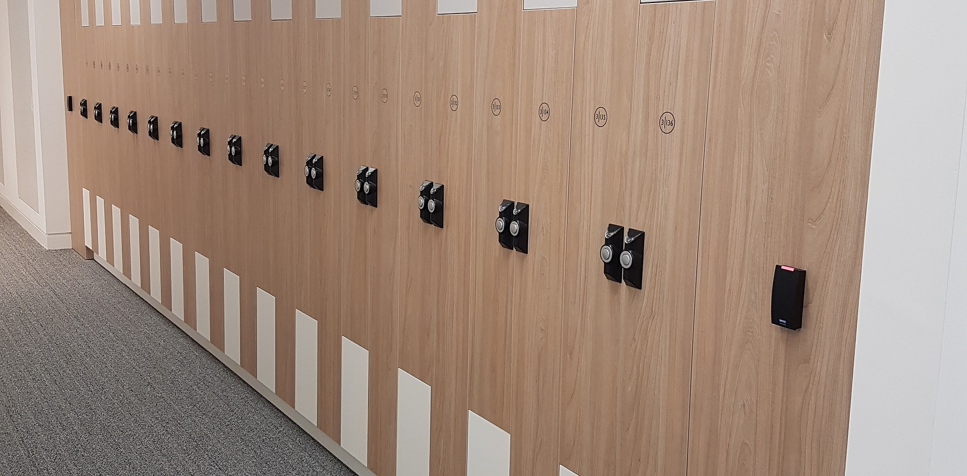 intelligent smart workplace z locker RFID lock card reader remote opening